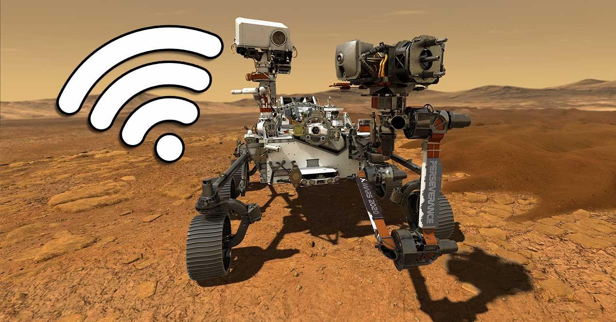 Así son las conexiones entre el Perseverance en Marte y la Tierra