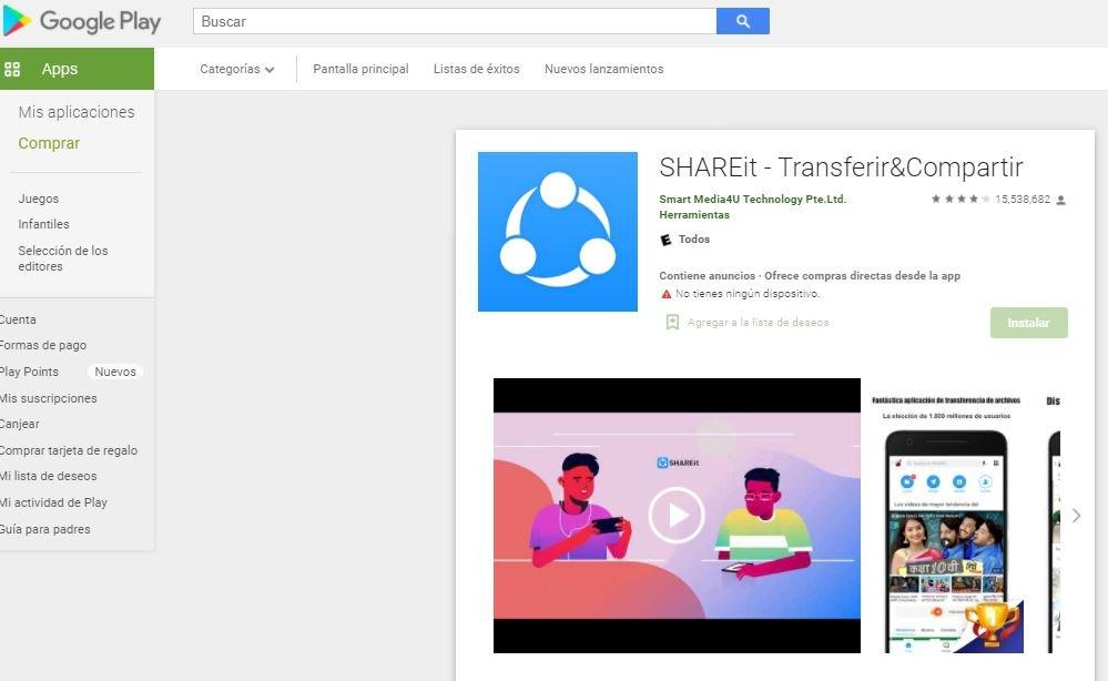 Millones de usuarios de Android expuestos a vulnerabilidades en Shareit