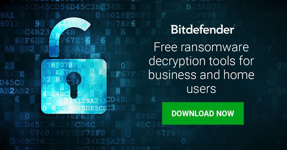 Bitdefender ofrece descifrador universal gratuito para REvil / Sodinokibi Ransomware